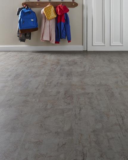 vinyl flooring - grey
